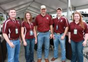 Taylor Rowland, McKensie Harris, Bryan Bracewell, Southside Market & Barbeque, Adam Murray, and Katy Jo Nickelson; Houston BBQ Festival