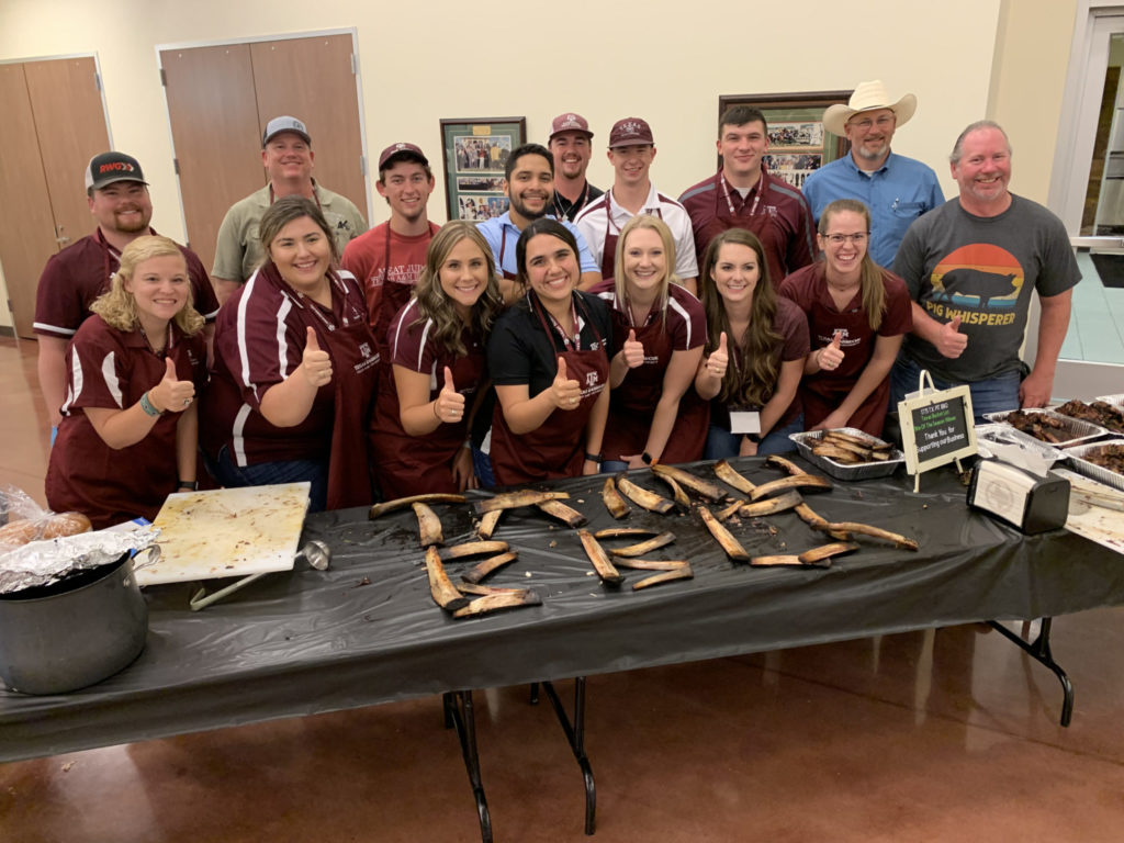 Students and pitmasters at Barbecue Summer Camp